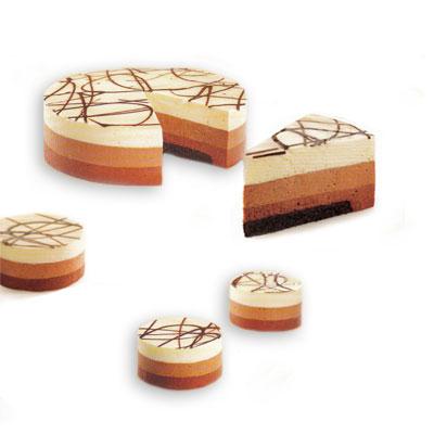 Decoration entremet 3 chocolat for Decoration entremet