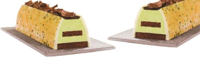 Pistachio-Chocolate Buche De Noel Recipes — Dishmaps