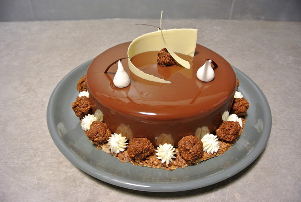 Entremets chocolat passion de florent forestieri for Decoration entremet