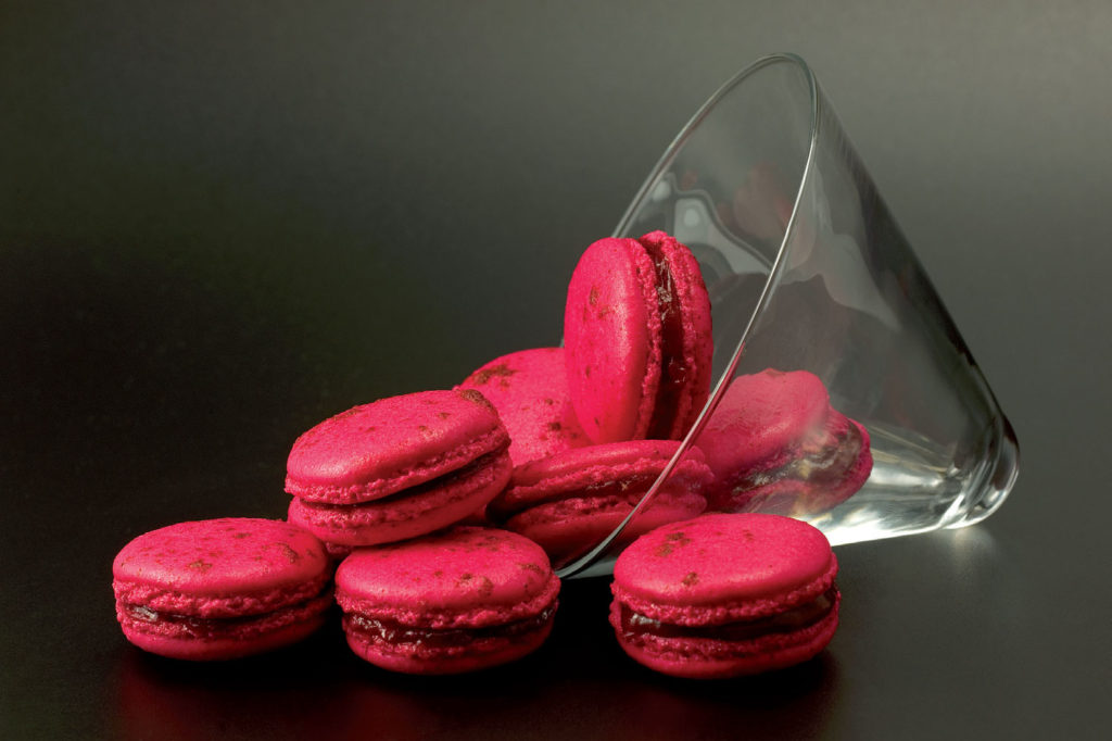 Macarons rouges | cerfdellier le blog