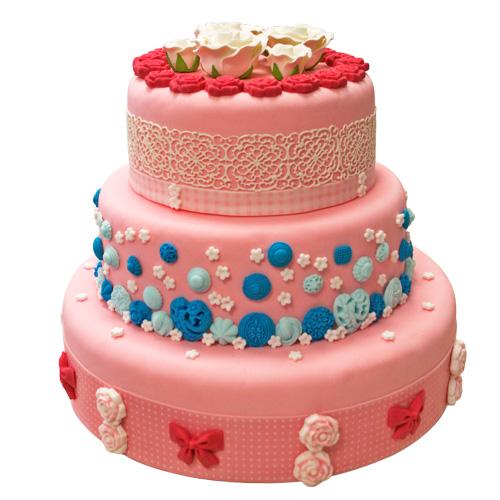Modele Gateau Pate A Sucre Moule Cake