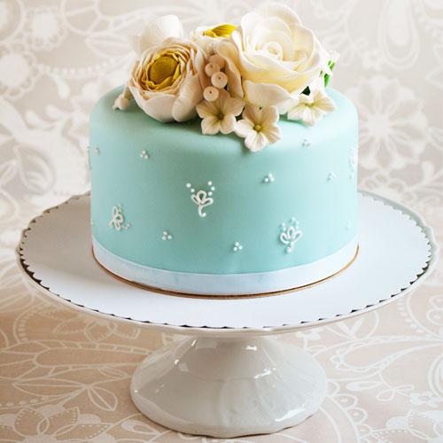 Garnitures pour gâteaux en pâte à sucre
