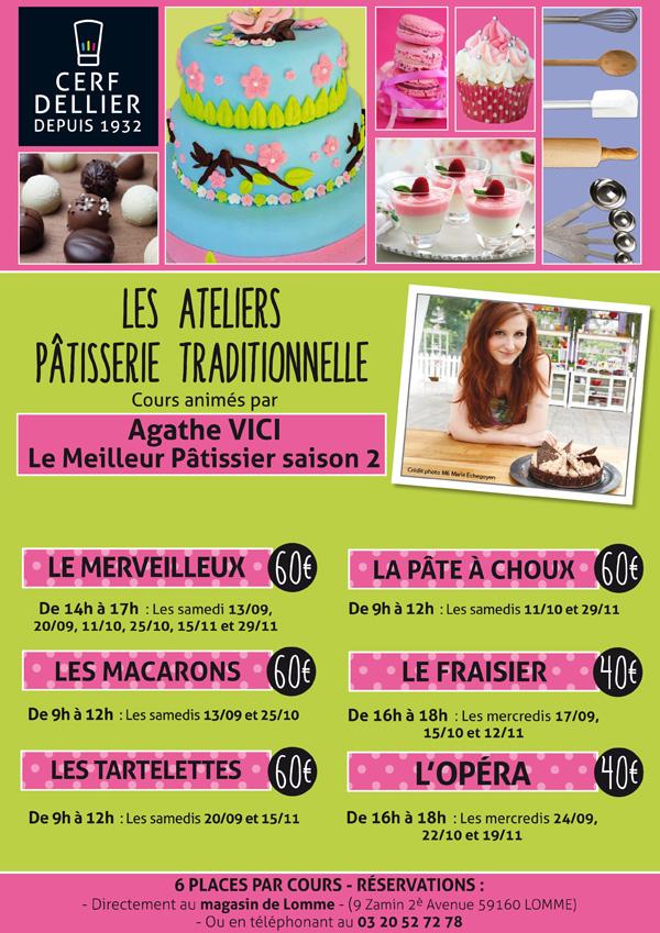 Programme des cours de la rentr e 2014 cerf dellier lomme - Cours de cuisine lomme ...