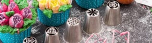 Les douilles à décor et leurs utilisations