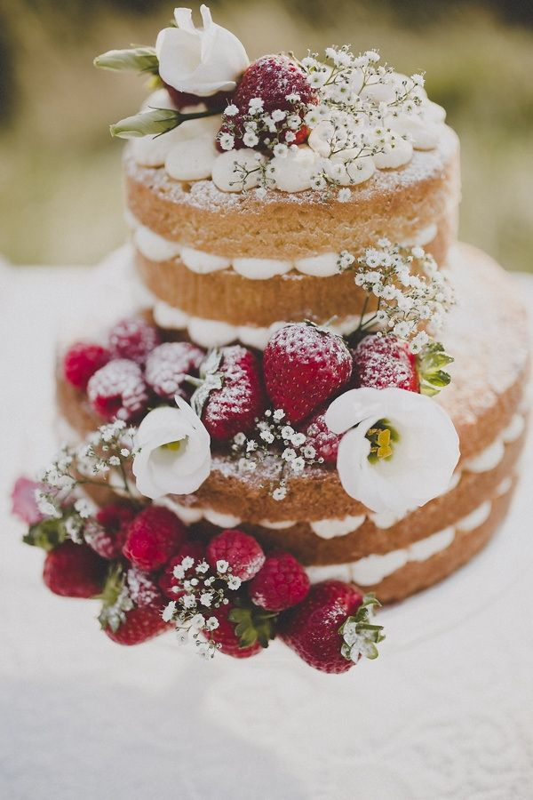 Matrimonio Tema Black And White : La tendance naked cake le g teau nu cerfdellier