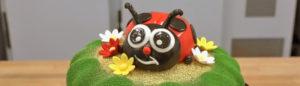 Utiliser les colorants en spray pour décorer un gâteau