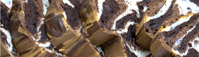 Le gâteau marbré