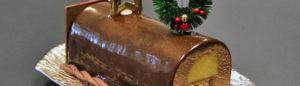 [Recette] Bûche de Noël Gianduja citron