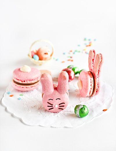 macarons lapins