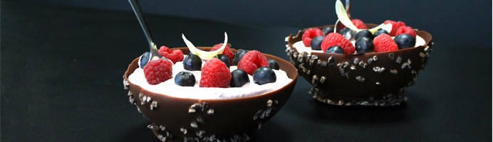 tuto comment faire des bols en chocolat cerfdellier le blog. Black Bedroom Furniture Sets. Home Design Ideas