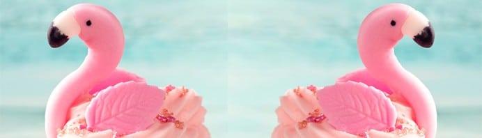 bandeau-cupcake-flamant-rose