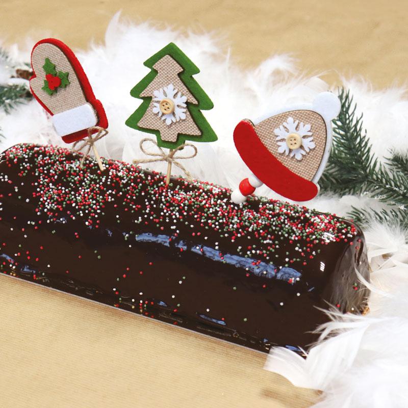 Recette coffret de Noël : la bûche de Noël