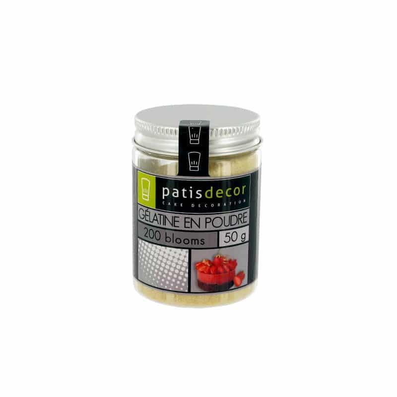 Gélatine bovine en poudre Patisdécor 50 g