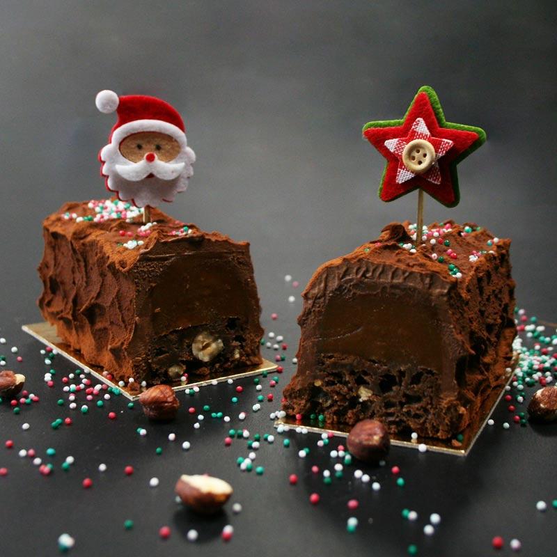 recette buchette caramel chocolat