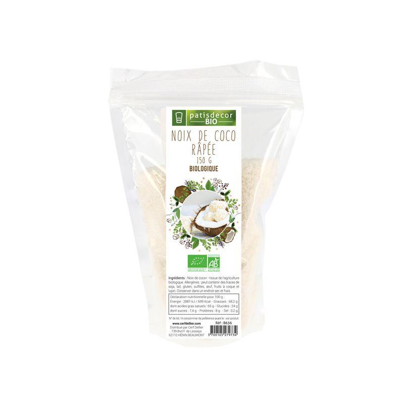 Noix de coco râpée Bio 150 g