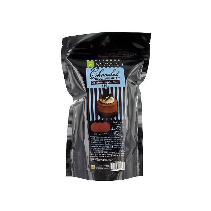 Chocolat au lait Papouasie Patisdecor