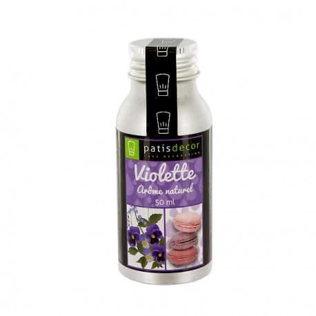 Arôme alimentaire naturel Violette Patisdécor