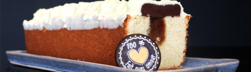Recette du cake gourmand vanille chocolat caramel