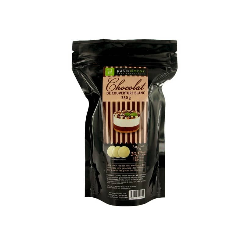Chocolat Blanc Barry 250 g - Patisdécor