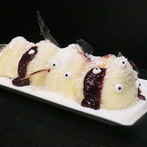 Gâteau Halloween Vanille Cerise