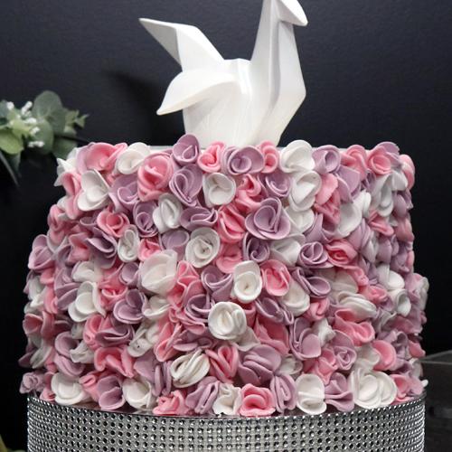 Le Ruffle Cake