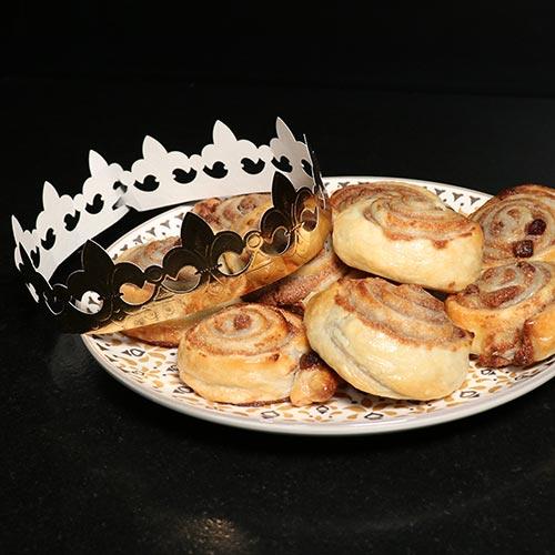 Roulés de galette des rois
