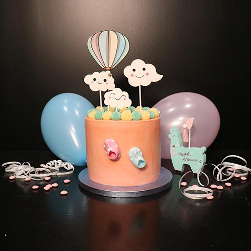 Pinata cake de naissance