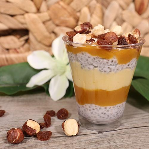 Recette de Chia pudding à la mangue