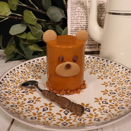 Entremets oursons chocolat caramel
