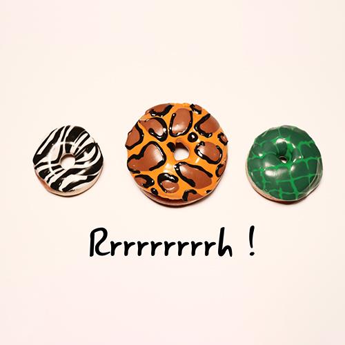 Donuts au four animaux