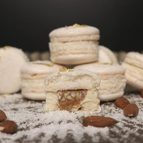 Macarons amande noix de coco