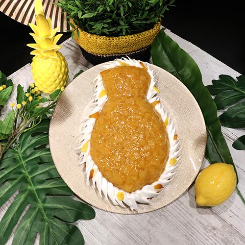 Tarte ananas meringuée