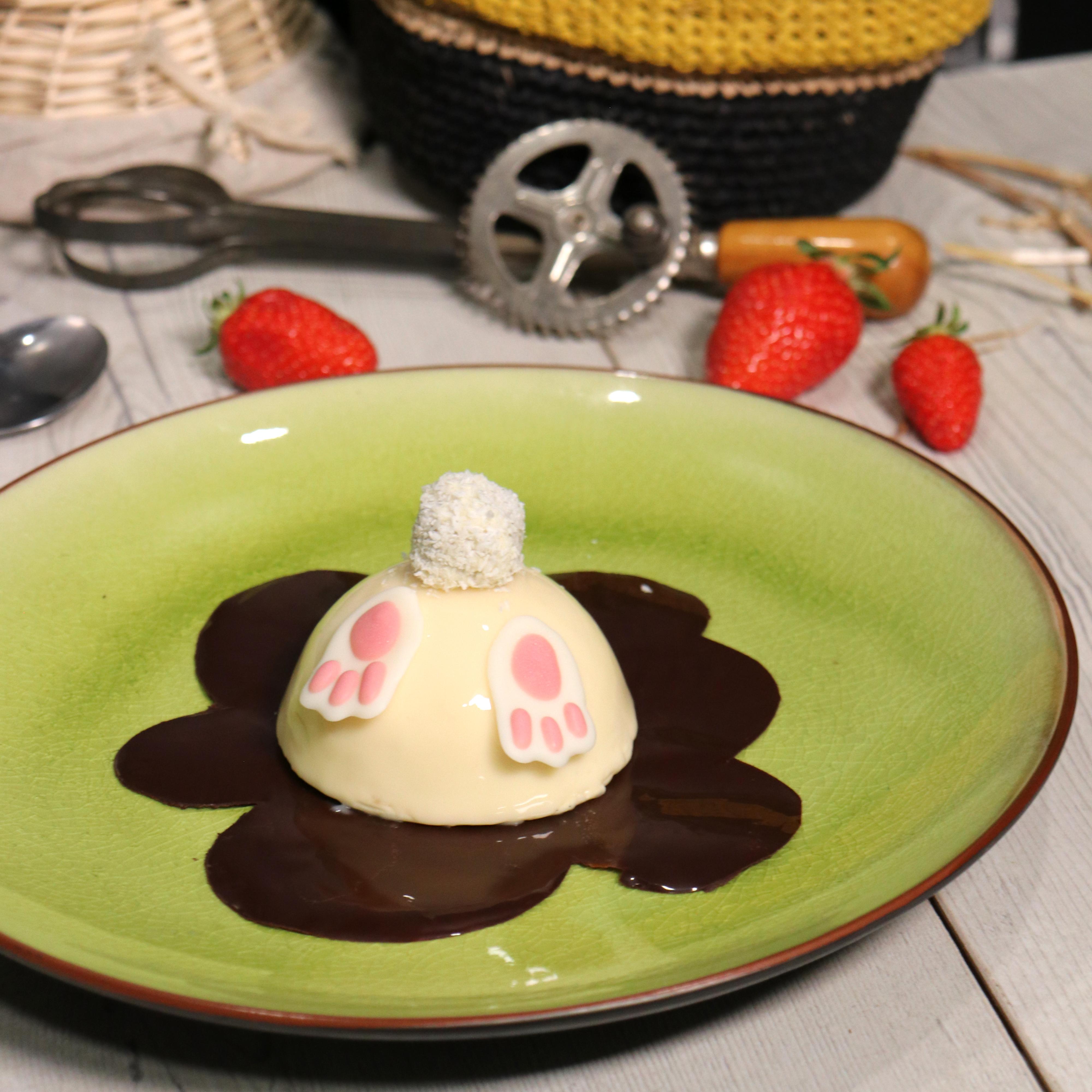 Gâteau lapin vanille fraise