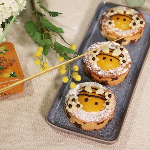 Tartelettes abricot amande