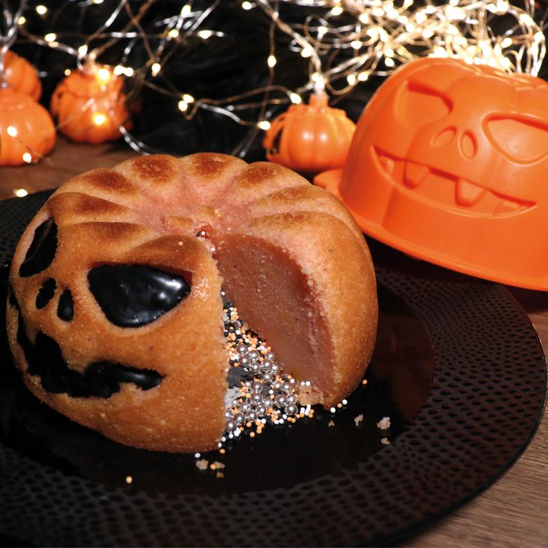 Gâteau citrouille pour Halloween